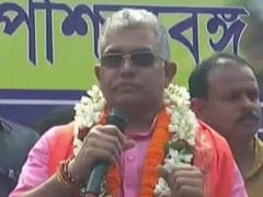"""Prove Me Wrong With Counter Research"": Dilip Ghosh Over Remarks On Cow"