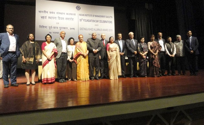 IIM Calcutta Alumni Gift 3 Crore To The Institute On 59th Foundation Day
