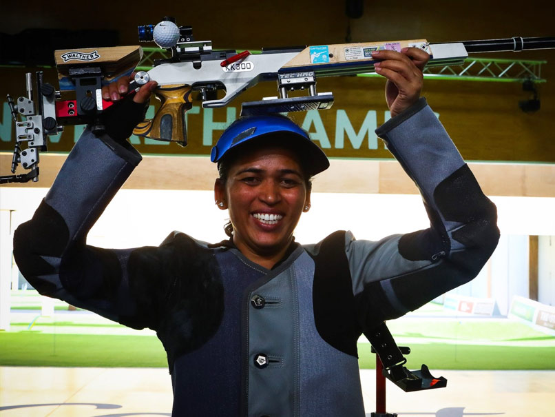 Tejaswini Sawant Secures Indias 12th Olympic Quota In Shooting
