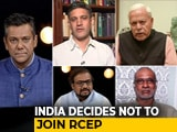 Video : India Opts Out Of World's Biggest Economic Bloc