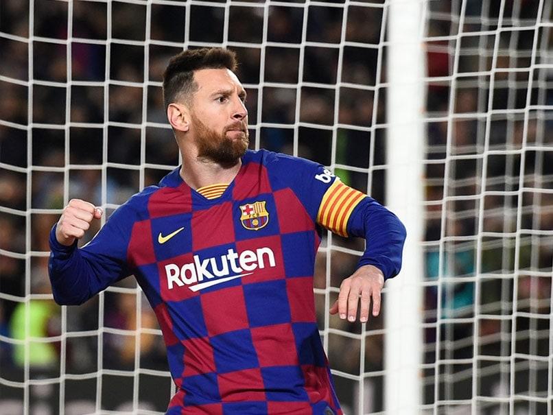 La Liga Captions Messi