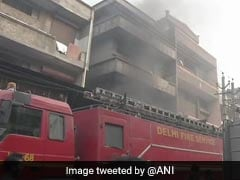 Fire At Shoe Factory In West Delhi, 2 Feared Trapped