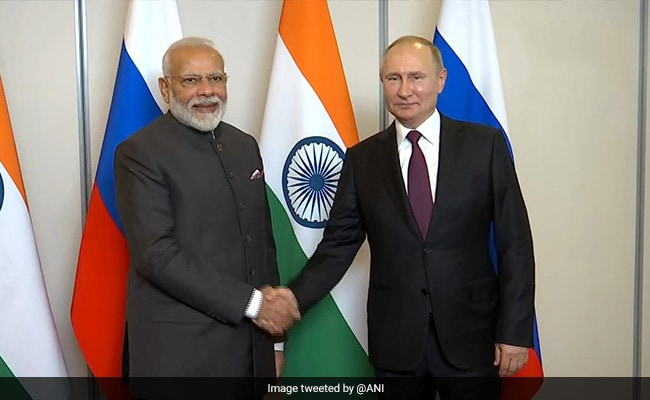 PM Modi Meets Vladimir Putin, Gets Invitation For Victory Day Celebrations
