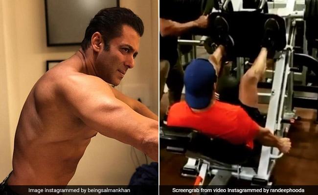 सलमान खान से टकराने के लिए जिम में जीतोड़ मेहनत कर रहा है यह बॉलीवुड एक्टर, देखें Viral Video