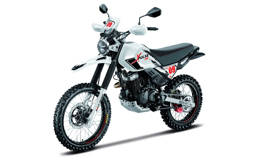 The Rally Kit is not homologated for road use, and will improve the off-road capability of the XPulse 200