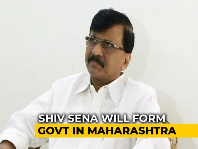 "Video : ""He Needn't Worry About Us"": Sena's Sanjay Raut Snubs Union Minister Ramdas Athawale"