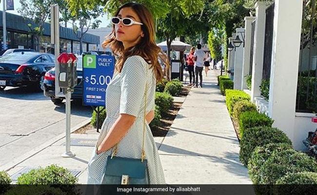 Viral: Alia Bhatt Is Sunny Side Up In Los Angeles