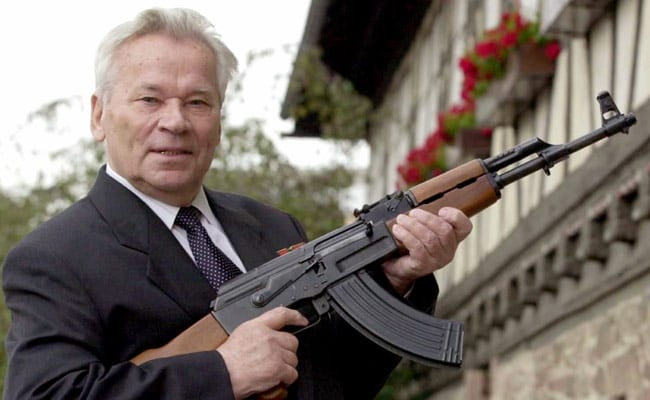 Russia Marks Kalashnikov's 100th Birthday With Exhibit And Selfies
