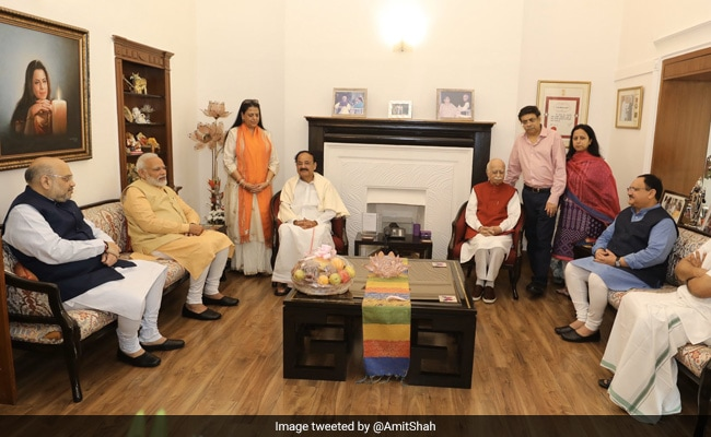 'Toiled For Decades, Gave Shape To BJP': PM On LK Advani's Birthday