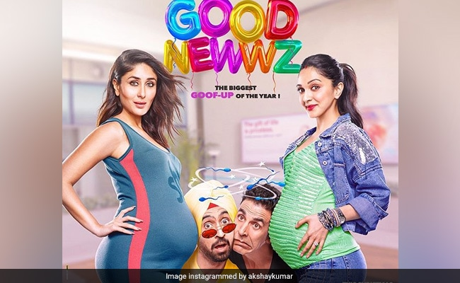 Good Newwz Is ROFL Posters Of Akshay Kumar, Kareena Kapoor, Kiara Advani, Diljit Dosanjh