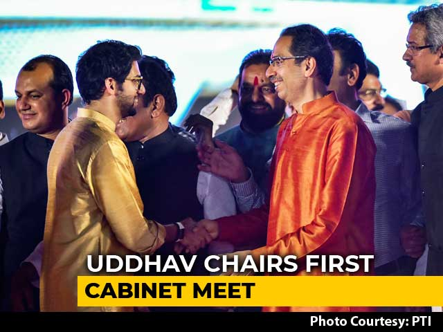 Video : Uddhav Thackeray Takes Charge, Fight For Ministries Next