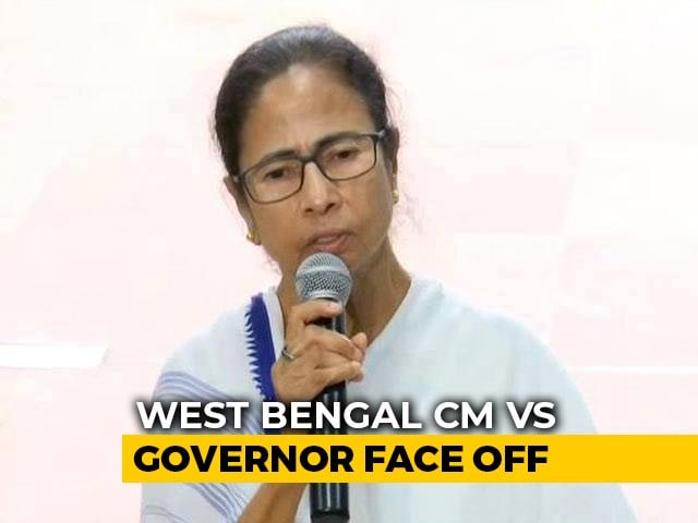 Video : After Kali Puja, Bengal Governor, Mamata Banerjee Clash Over WhatsApp Row