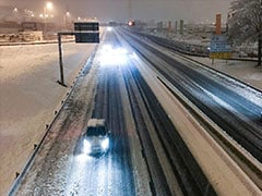 One Dead, 300,000 Homes Without Power In France After Heavy Snowfall