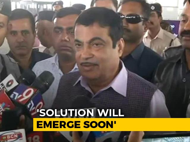 "Video : ""Will Get Sena Support"": Nitin Gadkari, Day Ahead Of Maharashtra Deadline"