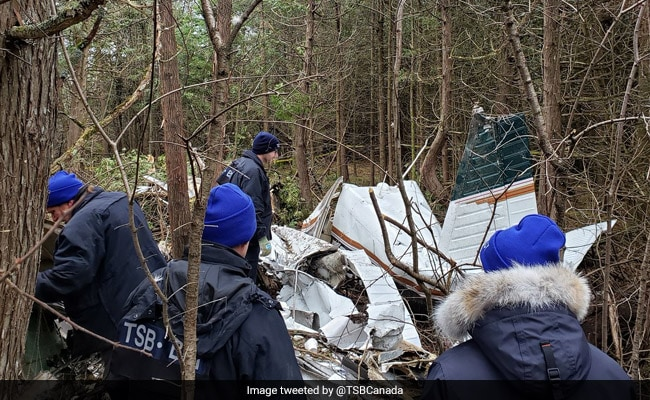 5 Dead After Small Plane Crashes In Canada