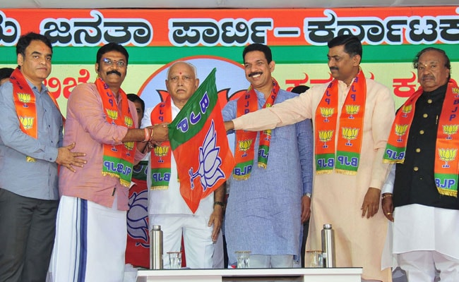 As Karnataka Bypoll Nears, BJP Faces Rifts Over Tickets For Rebel MLAs