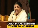 "Video : Singing Legend Lata Mangeshkar On A ""Path Of Recovery,"" Says Family"