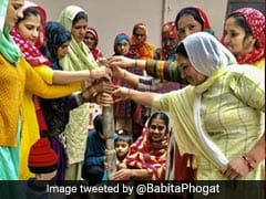 "Wrestler-Turned-Politician Babita Phogat Begins Her Wedding Rituals With ""<i>Baan</i>"""