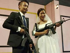 Action Against Naga Rebel Leader's Son, Daughter-In-Law Over Rifle Stunt