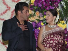 Sooraj Barjatya's Son Devaansh's Wedding Reception: Salman Khan, Madhuri Dixit, Mohnish Bahl Refresh <I>Hum Aapke Hain Koun</i> Memories