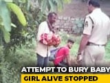 Video : Two Arrested For Trying To Bury Baby Alive In Hyderabad