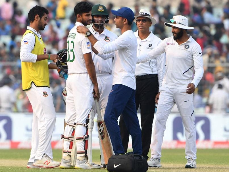 Team India Physio Treats Bangladesh Batsman, Twitter Praises Noble Gesture. Watch