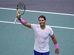 TENNIS: Rafael Nadal और Novak Djokovic पेरिस मास्टर्स के सेमीफाइनल में पहुंचे