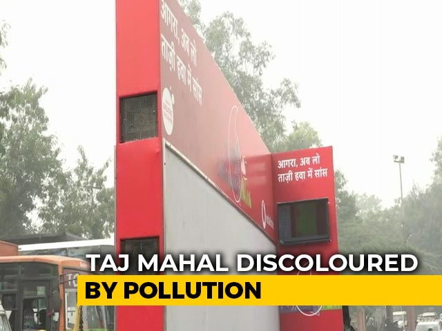 Video : Air Purifier Van Deployed At Taj Mahal To Tackle Pollution