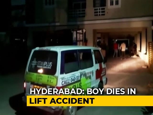 Video : 9-Year-Old Dies After Falling Into Lift Hole Of Hyderabad Apartment Building