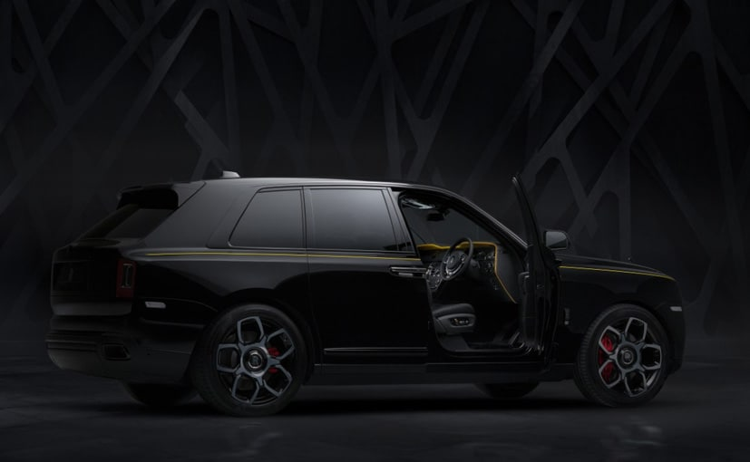 Rolls-Royce's Newly-Debuted Cullinan Is the Darkest Black Badge Vehicle Yet