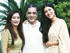 Inside Kamal Haasan's Birthday Trip To Hometown Paramakudi With Daughters Shruti And Akshara