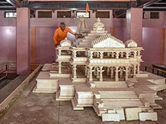 Ram Lalla Virajman To Be Placed In Fiber-Structure Temple After 27 Years