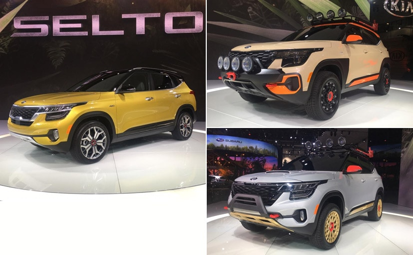The Kia Seltos X-Line Concepts will not make it to production yet