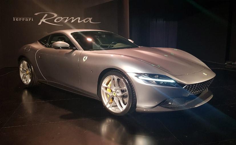 फरारी रोमा में 4.0-लीटर टर्बो V8 इंजन लगाया गया है
