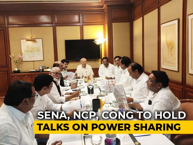 Video : In Sena, NCP's Maharashtra Talks, A Power Share Blueprint, And A Surprise