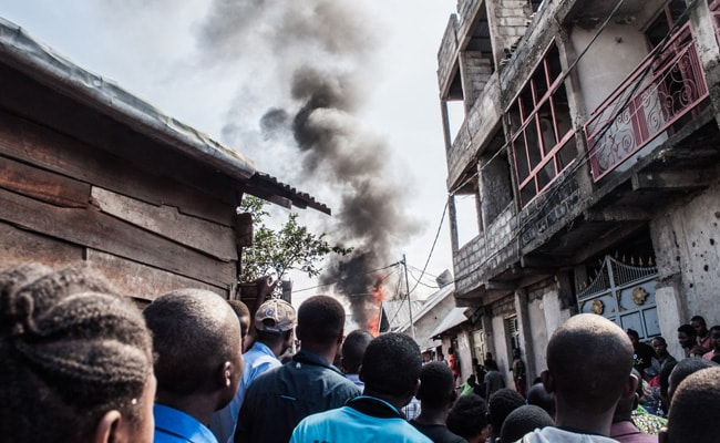 DR Congo Plane Crash: 29 Dead After Plane Crashes At Densely Populated Area In Congo