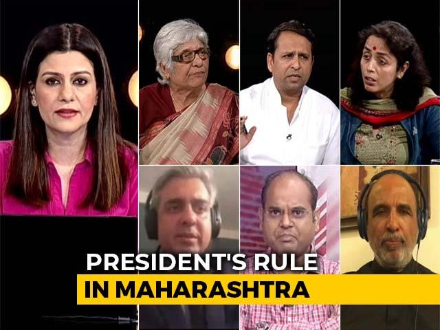 Video : Maharashtra Political Thriller, President's Rule Imposed