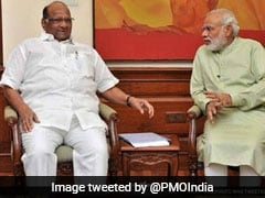 "PM Modi Wishes Sharad Pawar ""Good Health, Long Life"" On His 80th Birthday"