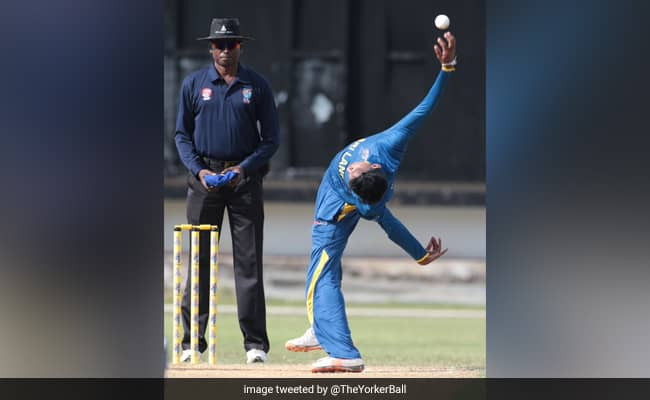 Watch: Sri Lankan Spinner Leaves Fans Baffled With His Version Of Frog In A Blender Action. Video Is Viral