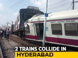Video : Hyderabad Head-On Collision Caught On Camera, Train Lifted Off Tracks