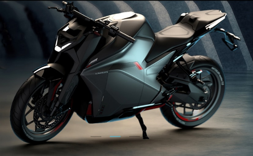 The Ultraviolette F77 electric motorcycle has a claimed top speed of 147 kmph