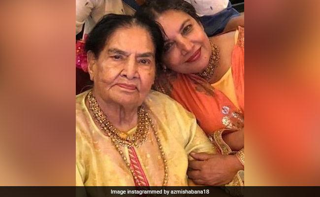 Shabana Azmi's Mother Actress Shaukat Azmi Dies At 93