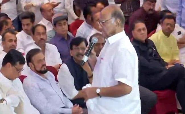 Maharashtra Government Formation Highlights: 162 MLAs Here, We Have Majority, Says Sharad Pawar; MLAs Take Oath