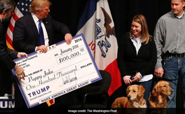 US Judge Orders Trump To Pay $2 Million For Misuse Of Charity Foundation