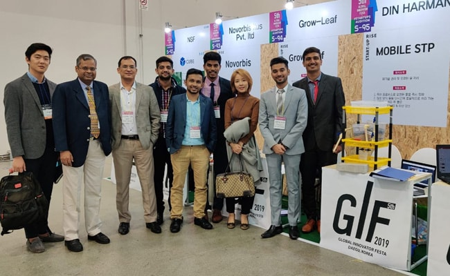 5 Indian Students Participate In Global Innovation Fest At South Korea