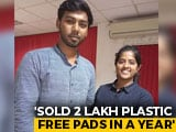 Video : Coimbatore Startup Comes Up With Plastic-Free Sanitary Pads