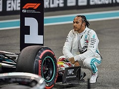 "Lewis Hamilton Ends ""Long Slog"" For Pole In Abu Dhabi"