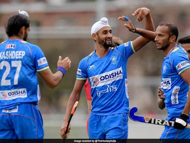 Hockey Olympic Qualifiers: Mandeep Singh Brace Helps India Register 4-2 Win Over Russia In First Leg