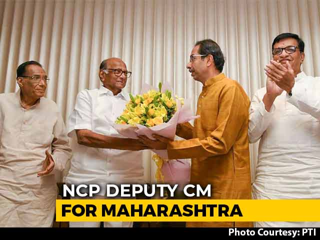 Video : Maharashtra To Have Deputy Chief Minister From NCP, Speaker From Congress