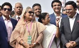 Mamata Banerjee, Sheikh Hasina Inaugurate India's First Pink Ball Test